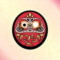 Daruma Japanse traditionele pop