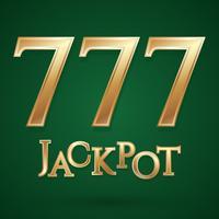 Casino jackpot symbool