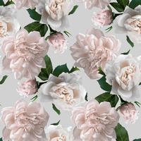 Naadloos patroon met bloem.