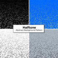 Abstracte halftoonsets