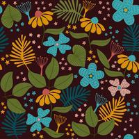Laat textuur patroon. plant en blad patroon achtergrond