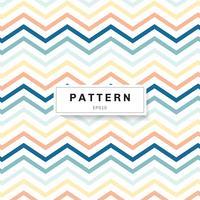 Chevron patroon pastelkleuren kleur op witte achtergrond. Blauwe, gele, roze zigzag. vector