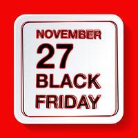 Zwarte vrijdagverkoop vector