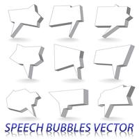 Tekstballonnen vector