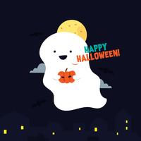Halloween geest Vector