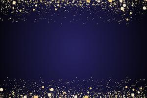 watervallen gouden glitter sparkle-bubbles champagne deeltjes sterren zwarte achtergrond Gelukkig Nieuwjaar vakantie concept.