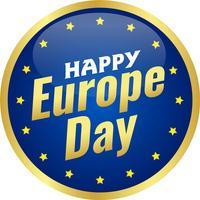 Europadag. Jaarlijkse feestdag in mei. Is de naam van twee jaarlijkse observatiedagen - 5 mei door de Raad van Europa en 9 mei door de Europese Unie. Poster, kaart, banner en achtergrond. Vector - Vector