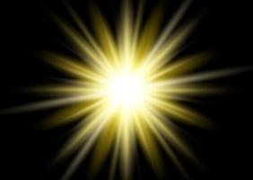 Gouden starburst achtergrond