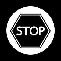 Stoptekenpictogram