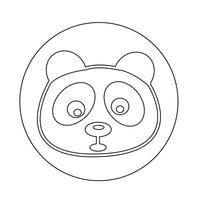 Panda pictogram