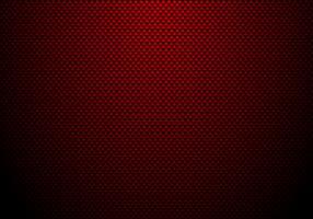 Rode koolstofvezelachtergrond en textuur met verlichting. Materiaal behang voor auto tuning of service. vector