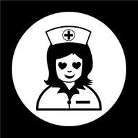 Verpleegster pictogram