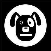 Hond pictogram vector