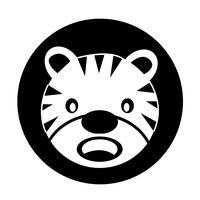 tijger pictogram