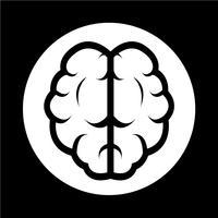 Hersenen pictogram