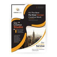 moderne zakelijke flyer presentatie