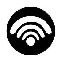 Teken van wifi-pictogram