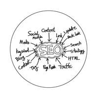 Teken van het Seo-pictogram