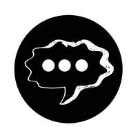 Speech Bubble-pictogram