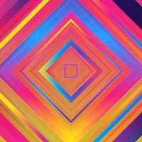 Abstracte kleurrijke achtergrond. Eenvoudige vormen met trendy gradiënten