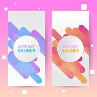 Covers met geometrisch patroon. Kleurrijke achtergronden. Toepasbaar voor banners, posters, posters, flyers.