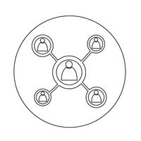 Netwerkpictogram