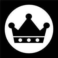Teken van Crown pictogram