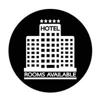 Room beschikbaar pictogram