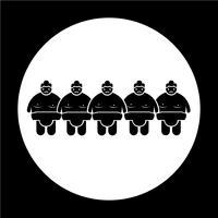 Sumo worstelen mensen pictogram