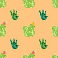 Woondecoraties in moderne Scandic-stijl. vetplanten, cactussen en andere planten die groeien in floraria vector