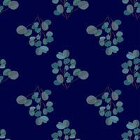 Heldere moderne achtergrond met jungle bladeren. Exotisch patroon met palmbladen. Vector illustratie