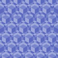 Elegant isometrisch geometrisch patroon vector