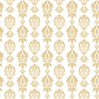 Koninklijk Victoriaans naadloos patroon. Damast koninklijk patroon