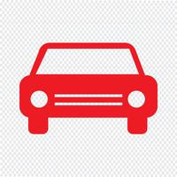 Auto pictogram vectorillustratie