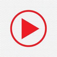 Speel pictogram vectorillustratie vector