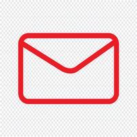 e-mail pictogram vectorillustratie vector