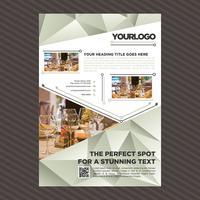 Professionele zakelijke brochure sjabloon