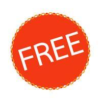 knop teken gratis pictogram