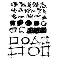 Hand getrokken inkt schetslijn vector