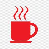 drankje pictogram vectorillustratie