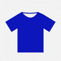 Tshirt pictogram vectorillustratie