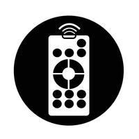 pictogram voor afstandsbediening vector