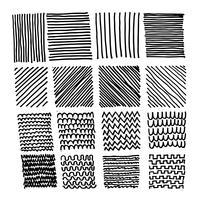 Hand getrokken doodle schets lijn vector