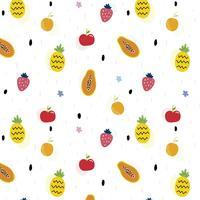 Vruchten patroon vector