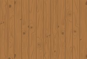 De houten achtergrond van textuur lichtbruine kleuren - Vectorillustratie