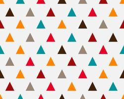 De abstracte kleurrijke geometrische achtergrond van het driehoeks naadloze patroon - Vectorillustratie vector