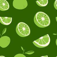 Verse citroen fruit, verzameling van vectorillustraties vector