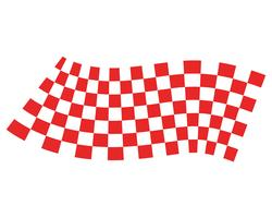 vlag sjabloon logo en symbool vectoren