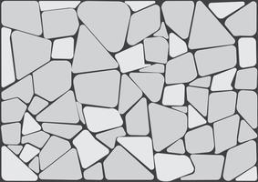 Achtergrondtextuur van steen. vector