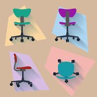 Vierrichtingsstoel vector